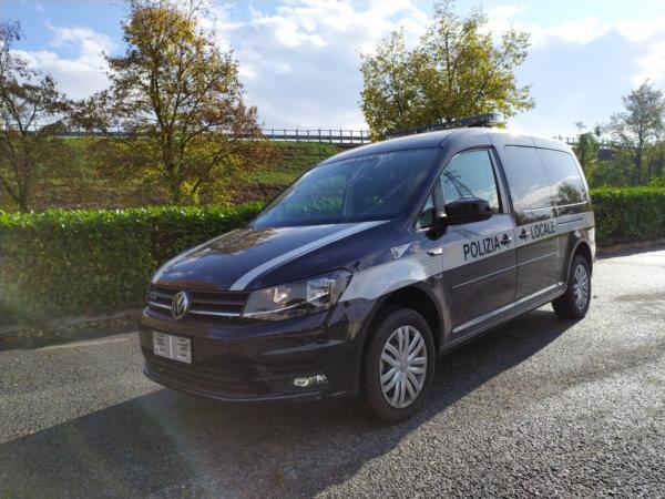 Volkswagen Caddy allestito per Polizia Locale