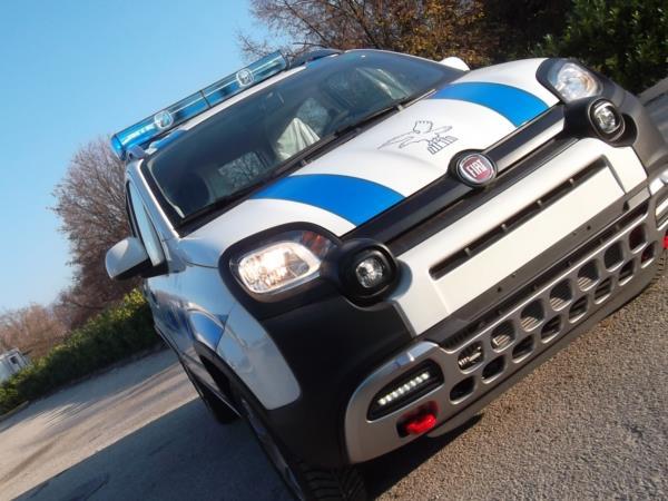 Polizia Locale Fiat Panda 4X4