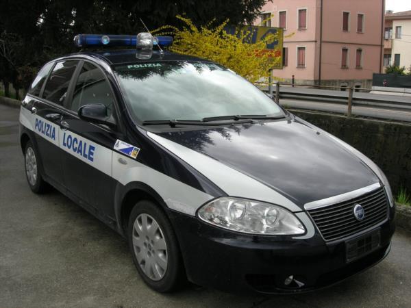 Polizia locale Fiat Croma