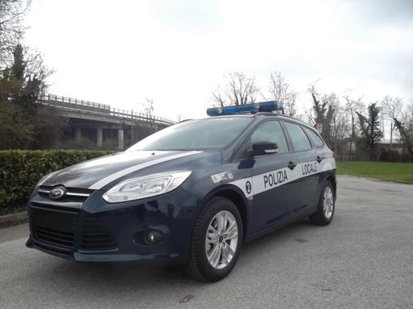 Polizia Locale Ford Focus SW 2013