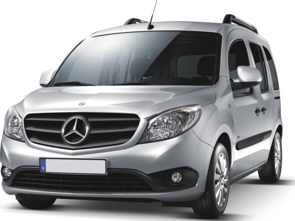 Mercedes Citan con pianale ribassato