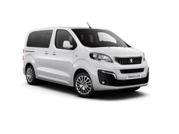Peugeot Traveller con piano ribassato posteriore per accesso di persone in carrozzina