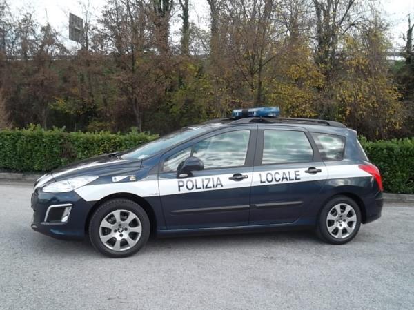 Polizia locale Peugeot 308 SW