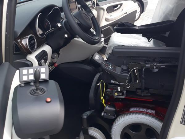 Sali e guida con sistema digitale guida con joystick 4 vie